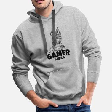 Counter Strike Gaming T-Shirt The perfect gift idea. - Men's Premium Hoodie