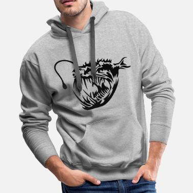 Deep Sea Fishing Deep-sea fish - Men's Premium Hoodie