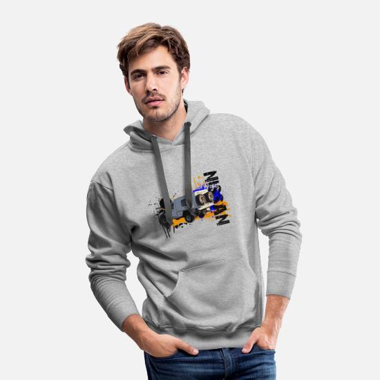 Nissan Hoodies & Sweatshirts - Nissan Patrol - Men's Premium Hoodie heather gray