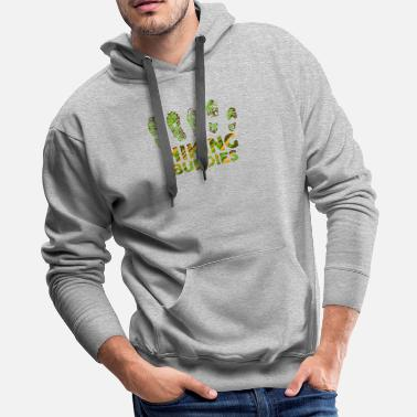Relation Hiking Buddies - Hiking - D3 Designs - Men's Premium Hoodie
