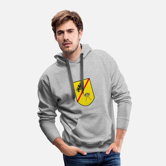 Coat Hoodies & Sweatshirts - Coat of arms - Men's Premium Hoodie heather gray