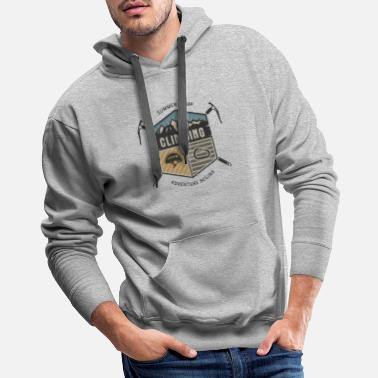 Alaska Climbing Summer Camp - Men's Premium Hoodie