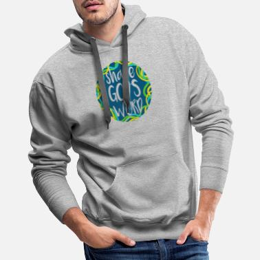 Church Share God's Word - Bible Verse - D3 Designs - Men's Premium Hoodie
