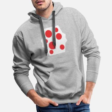 Wine Red Stain Funny - Men's Premium Hoodie