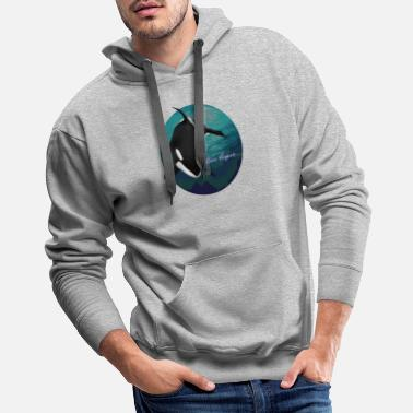 Killer Orca Whale for Men, Women and Kids - Men's Premium Hoodie