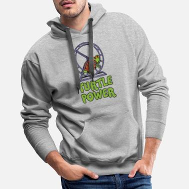 Turtle Power Funny T Shirt - Men's Premium Hoodie