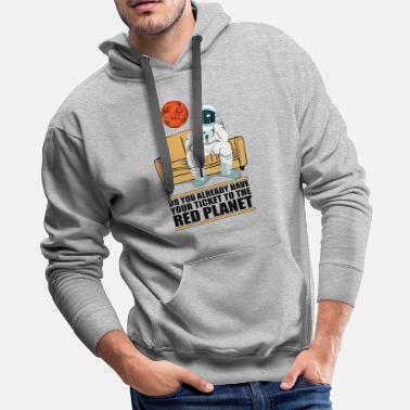 Red Planet Mars the Red Planet - Men's Premium Hoodie