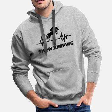 Show Jumping Show jumping - Men's Premium Hoodie