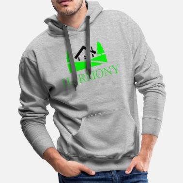 Countryside home in the countryside - Men's Premium Hoodie