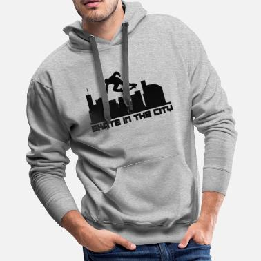 Alva Skate Skate - Skate In The City - Men's Premium Hoodie
