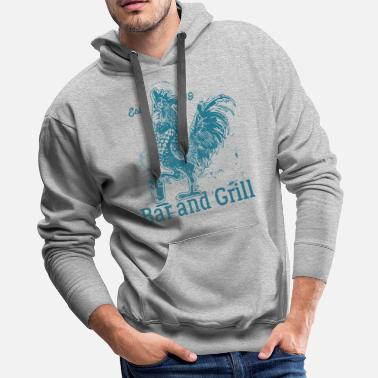 Grilling Grill Grill Grill - Men's Premium Hoodie