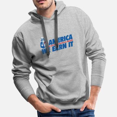 Wealth WEALTH EARN IT - Men's Premium Hoodie