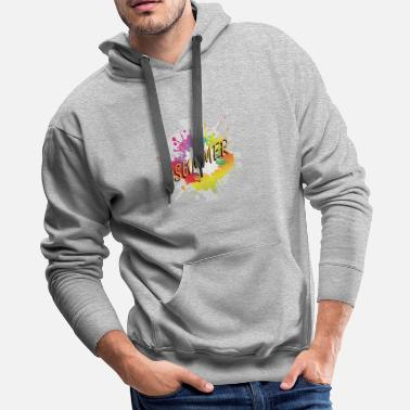 Summer Colors Colored summer - Men's Premium Hoodie