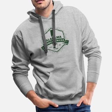 Brewmaster Alabama Homebrewers - Men's Premium Hoodie