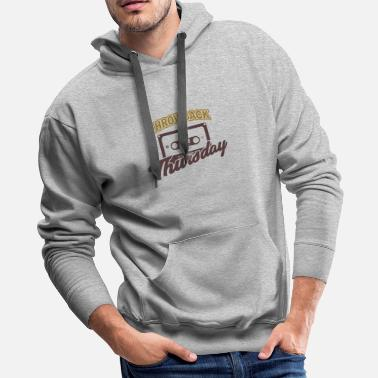 Thursday Throwback Thursday - Men's Premium Hoodie