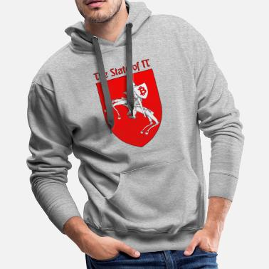 State The State of IT - Men's Premium Hoodie