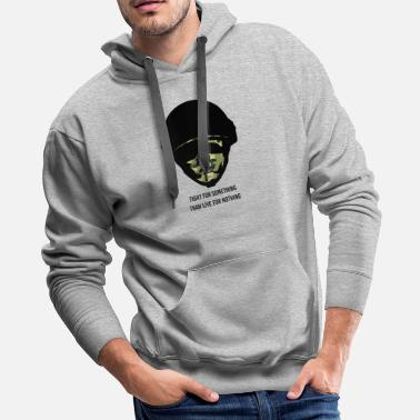 Weapon Army Gift Idea Military Salute Soldier Infantry Ar - Men's Premium Hoodie