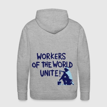 Workers Unite Street Art - Men's Premium Hoodie
