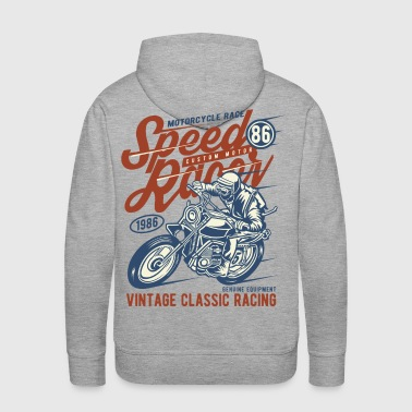 Speed Racer Vintage Classic Racing - Men's Premium Hoodie
