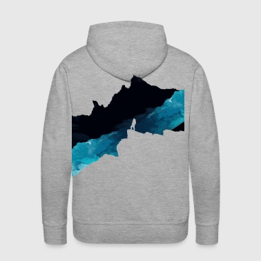 Dark Mountains - Men's Premium Hoodie