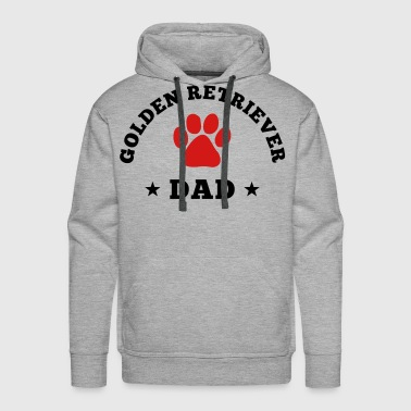 Golden Retriever Dad - Men's Premium Hoodie