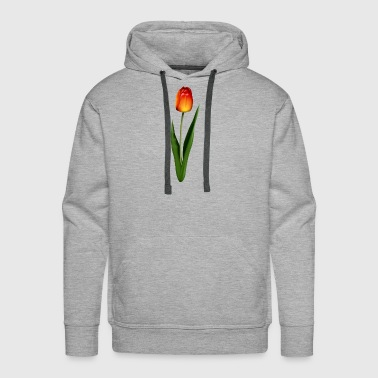 Orange Tulip - Men's Premium Hoodie