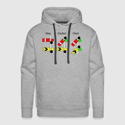 Railway Signs - Men's Premium Hoodie