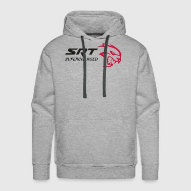 SRT HELLCAT SUPERCHARGED - Men's Premium Hoodie