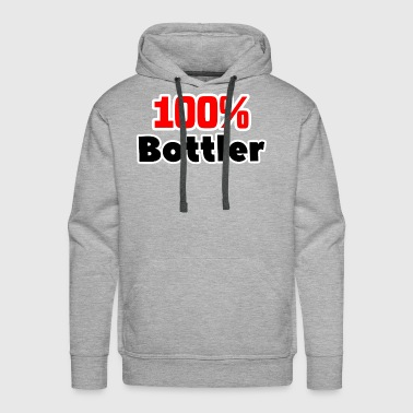 100% Bottler job T-Shirt gift - Men's Premium Hoodie