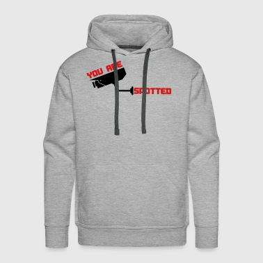 4496444 15860078 you are spotted - Men's Premium Hoodie