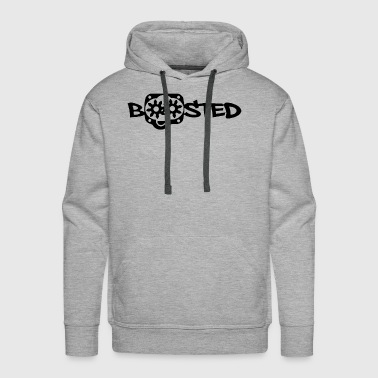 BOOSTED SUPERCHARGED TURBO - Men's Premium Hoodie
