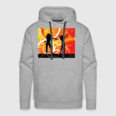 Dancing Girls - Men's Premium Hoodie