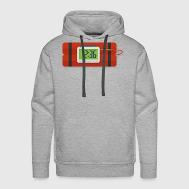 Bomb with a Timer Gift Idea - Men's Premium Hoodie