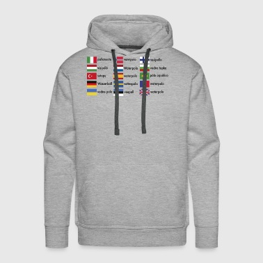 2541614 15571293 waterpolo international - Men's Premium Hoodie