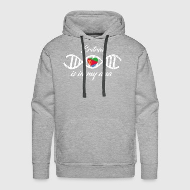 love my dna dns land country Eritrea - Men's Premium Hoodie