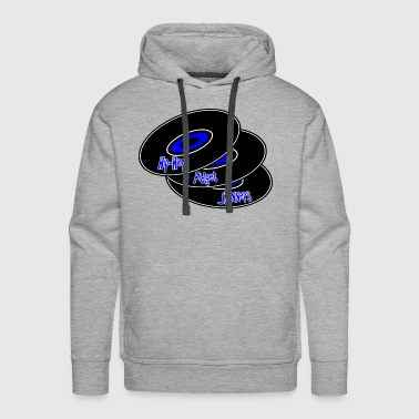 Hip Hop Fidget Spinners Blue - Men's Premium Hoodie