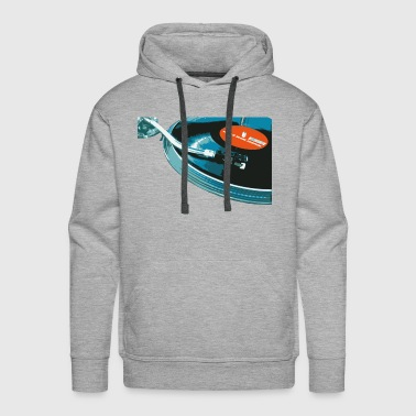 vinyl turntable - Men's Premium Hoodie