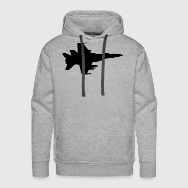 Airplane Fighter Jet Pilot Gift Idea - Men's Premium Hoodie
