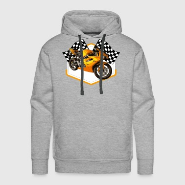 Hot Rod Racing Car / Gift Idea - Men's Premium Hoodie