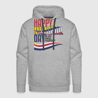 Happy Memorial Day - Men's Premium Hoodie