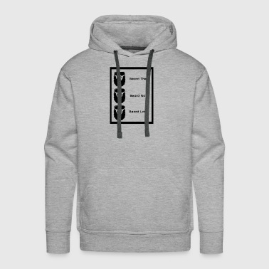 Beard Later - Men's Premium Hoodie