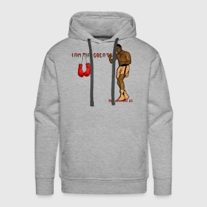 I am greatest -Muhammad Ali - Men's Premium Hoodie