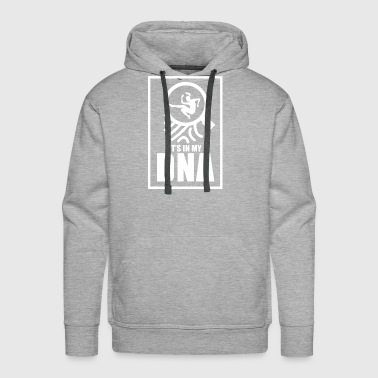 Jump Broad and long or high in my DNA gift - Men's Premium Hoodie