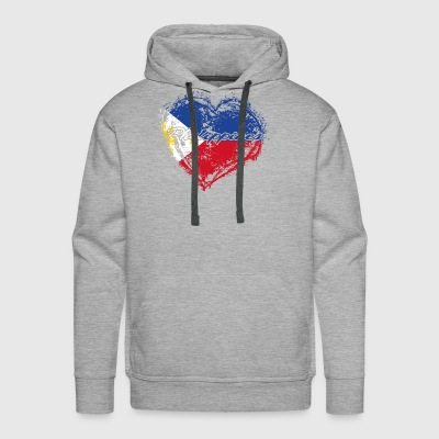HOME ROOTS COUNTRY GIFT LOVE Philippines - Men's Premium Hoodie