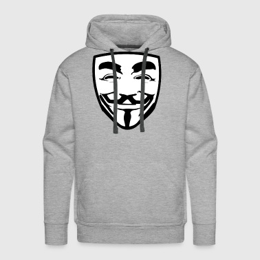 anonymous guy fawkes - Men's Premium Hoodie
