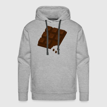 Chocolate gift present idea - Men's Premium Hoodie