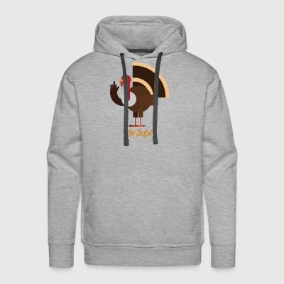 Get Stuffed, Turkey! - Men's Premium Hoodie