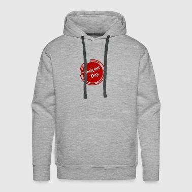 Work Out Day - Men's Premium Hoodie