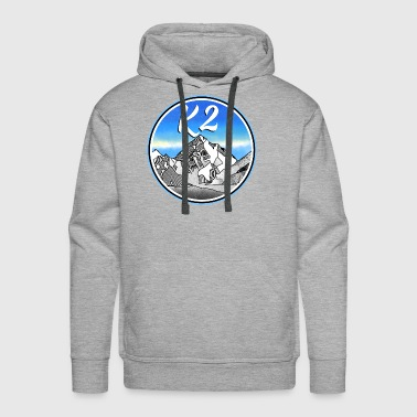 k2 Mountains - Men's Premium Hoodie