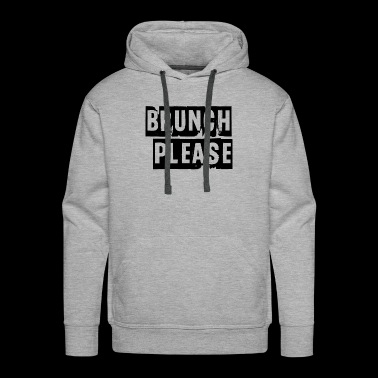 brunch please - Men's Premium Hoodie